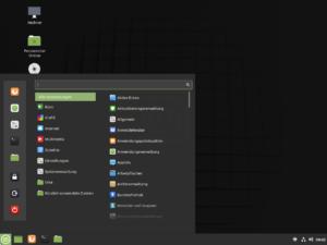 Linux Mint mit Cinnamon Desktop