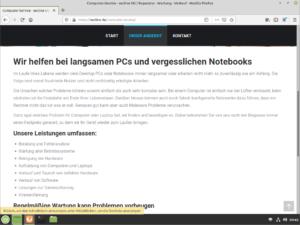 Firefox Linux Mint